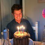 Birthdays and more yard developments